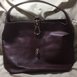 Dooney Bourke logo lock hobo